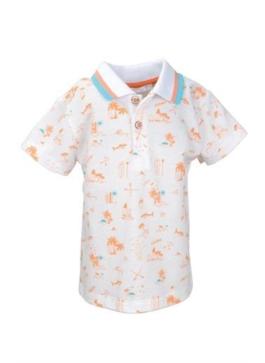 Mininio Oranj Surf Baskılı Polo Yaka T-Shirt (9ay-4yaş) Oranj Surf Baskılı Polo Yaka T-Shirt (9ay-4yaş) Oranj